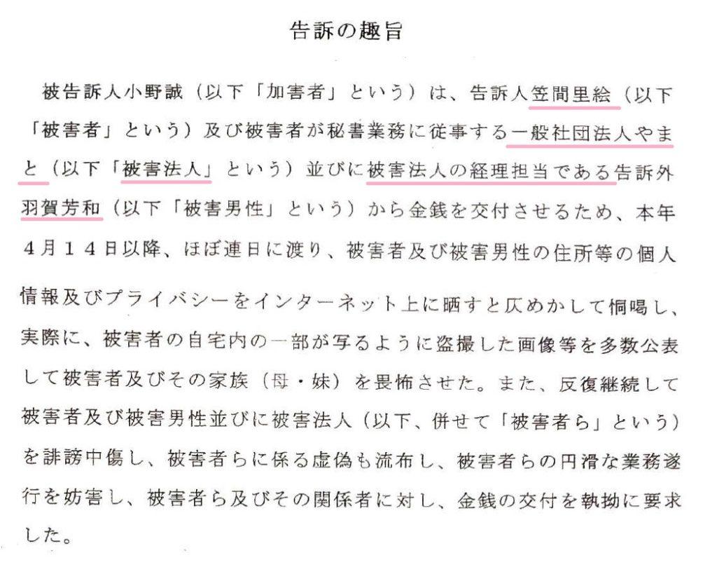 羽賀芳和と笠間理絵の正体 -2